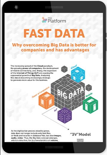 Fast data - Perchè superare i Big Data e i vantaggi per le aziende