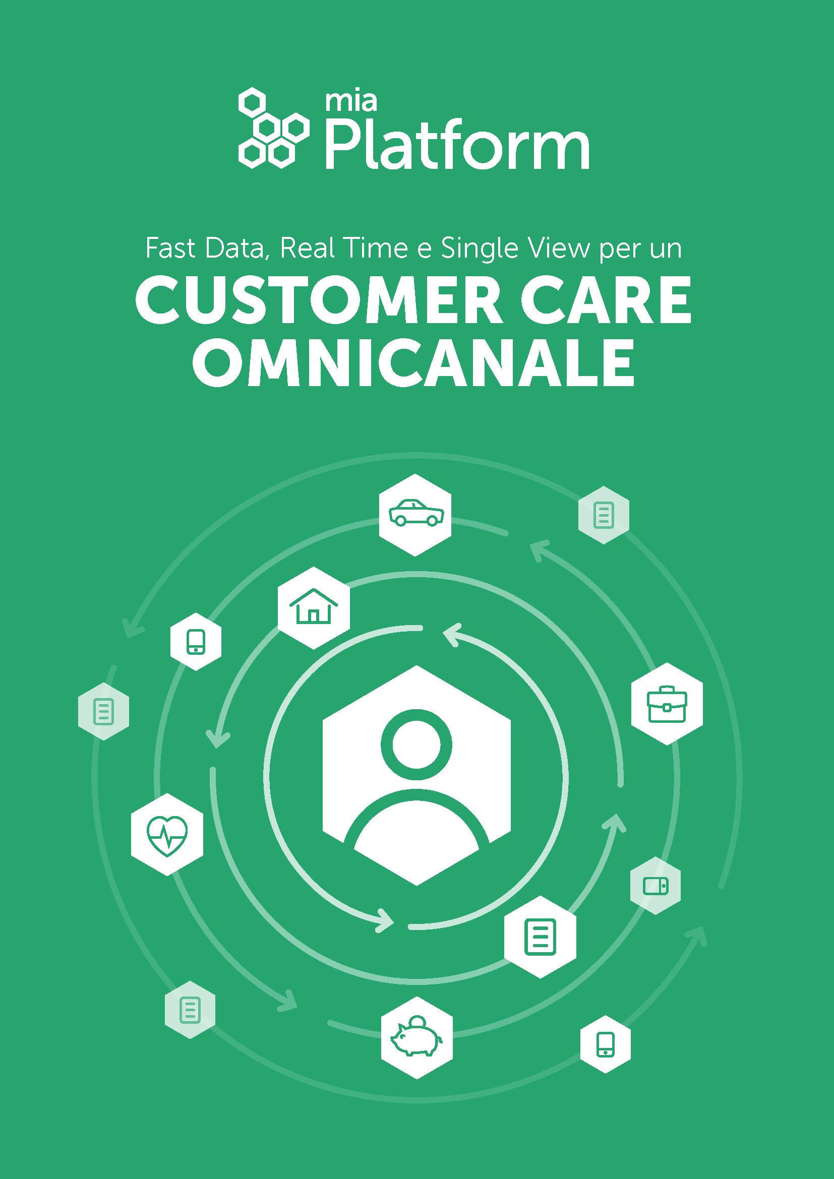 Fast Data, Real Time e Single View per un Customer Care Omnicanale